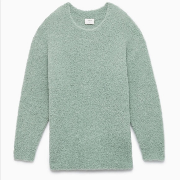Aritzia Wilfred Seissan Oversized Alpaca Sweater